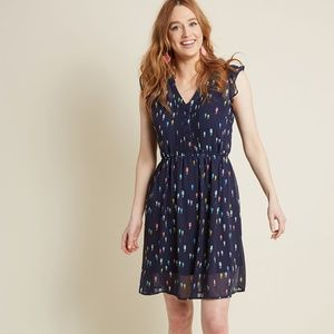 Sweet Seahorses A-Line Dress in Size Small